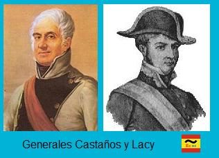 General Lacy y Castaños las dos caras del pronunciamiento de caldetas