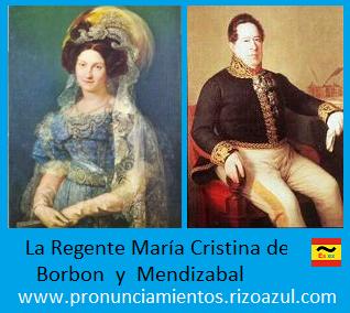 María Cristina y Mendizabal