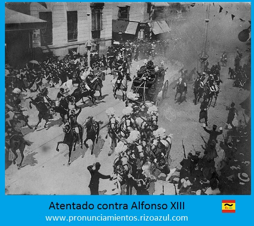 Atentado de Mateo Morral contra Alfonso XIII