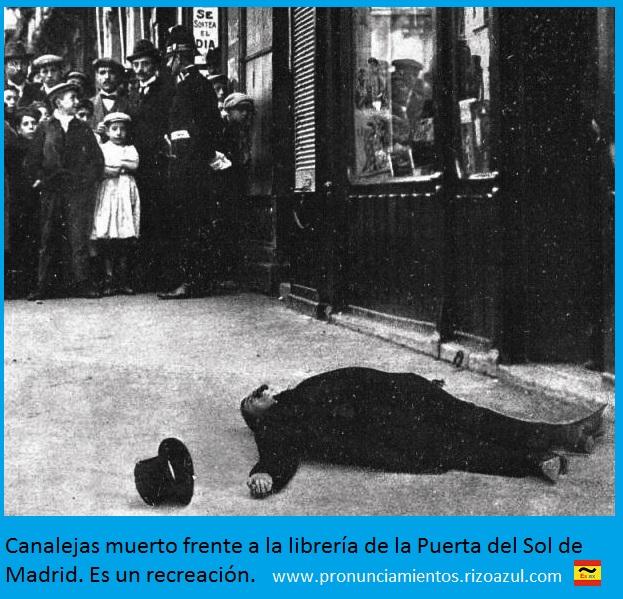 canalejas asesinado