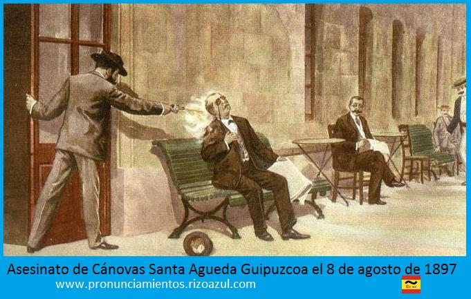 Asesinato de Antonio Cánovas del Castillo