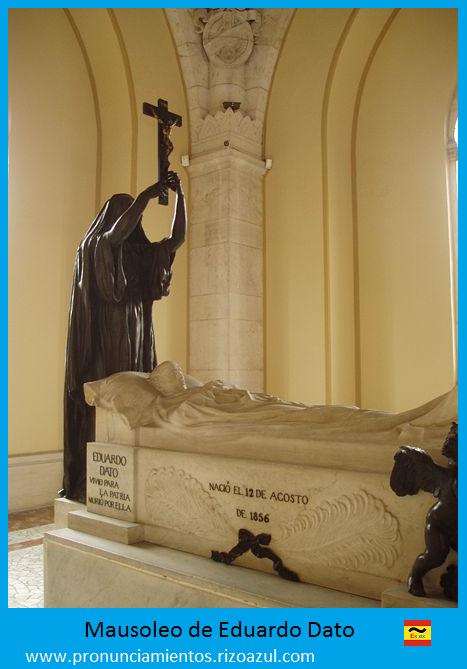 Mausoleo de Eduardo Dato Iradier