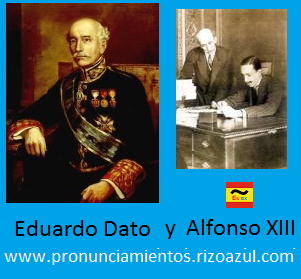 Eduardo Dato y Alfonso XIII