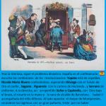 caricatura de la Flaca: el confesionario nacional