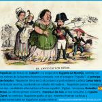 caricatura de La Flaca : Isabel II y Napoleón
