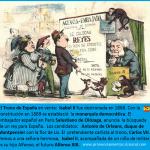 Caricatura La Flaca: corona española en venta