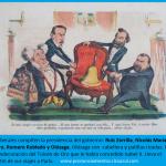 La caricatura de la Flaca: Zorrilla y Olózaga