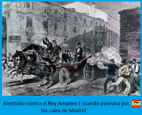 Atentado contra Amadeo I