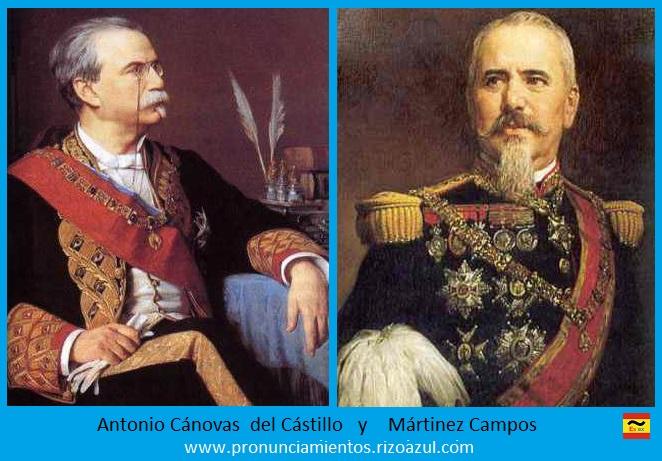 Antonio Cánovas y Mártir Campos