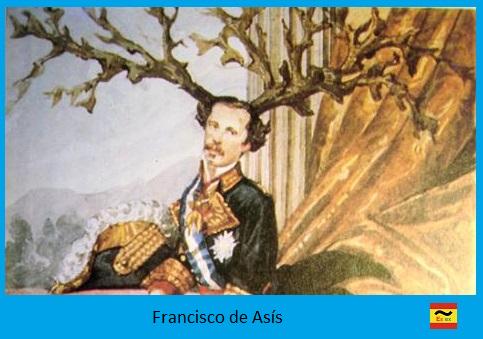 Caricatura de francisco de Asís