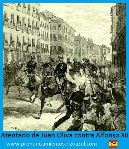 Anarquismo en España: Juan Oliva contra Alfonso XII