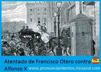 Anarquismo en España: Francisco Otero contra Alfonso XII