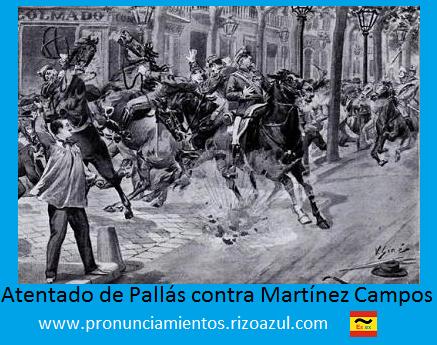 Anarquismo en España: Pallás contra Martínez Campos