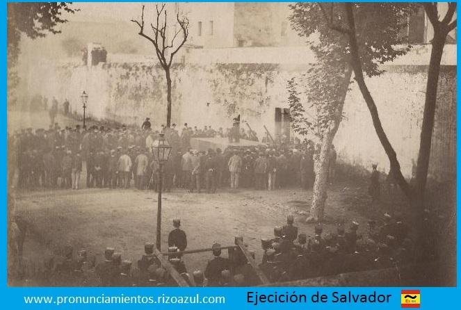 Ejecución de Santiago Salvador