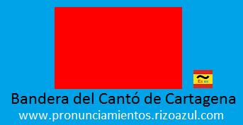 Bandera cantonal de Cartagena