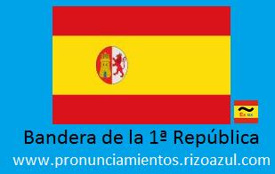 Bandera de la primera república española