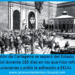 puerto de cartagena durante el cantón independiente